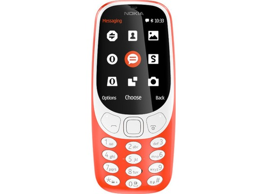 Nokia 3310 Dual-SIM (2017) - warmred