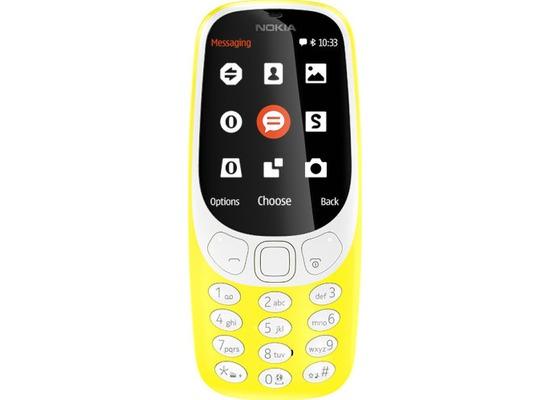 Nokia 3310 Dual-SIM (2017) - yellow
