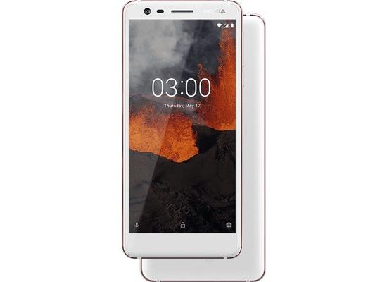 Nokia 3.1, Dual-SIM, 16 GB, white