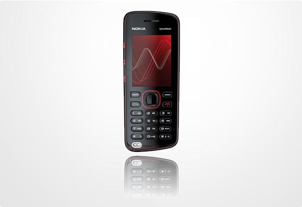 Nokia 5220 XpressMusic rot