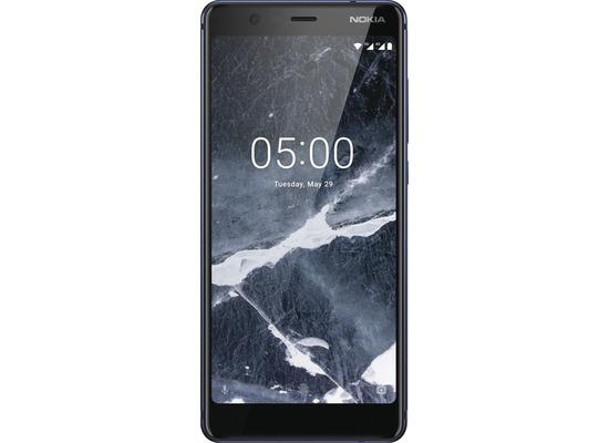 Nokia 5.1 (2018), Dual-SIM, 16 GB, blau