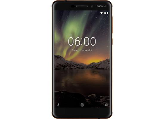 Nokia 6.1, Dual SIM, Black Copper