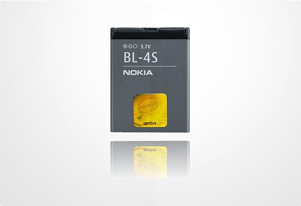 Akkus, Powerbanks - Nokia Akku BL 4S 860 mAh fuer Nokia 2680 slide, 3600 slide, 3710 fold, 7510 Supernova, 7610 Supernova, X3 Touch and Type  - Onlineshop Telefon.de