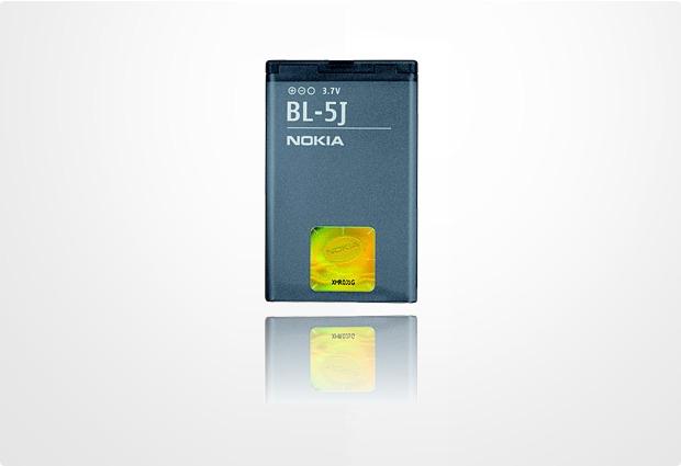 Akkus, Powerbanks - Nokia Akku BL 5J 1320 mAh fuer Nokia 5228, 5230, 5800 XpressMusic, Asha 200, Asha 201, Asha 302, C3, Lumia 530, N900, X6  - Onlineshop Telefon.de
