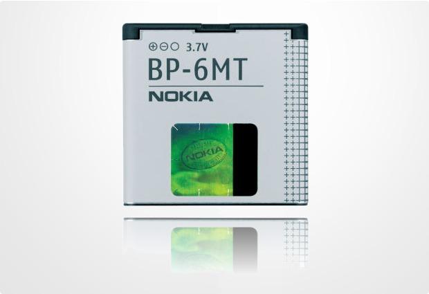 Akkus, Powerbanks - Nokia Akku BP 6MT 1050 mAh fuer Nokia 6720 classic, E51, N81, N81 8GB, N82  - Onlineshop Telefon.de