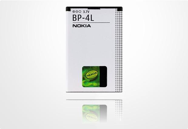 Akkus, Powerbanks - Nokia Akku BP 4L 1500 mAh fuer Nokia 6650, 6650 Flip, 6760 slide, E52, E55, E6 00, E61i, E63, E71, E72, E90 Communicator, N97  - Onlineshop Telefon.de