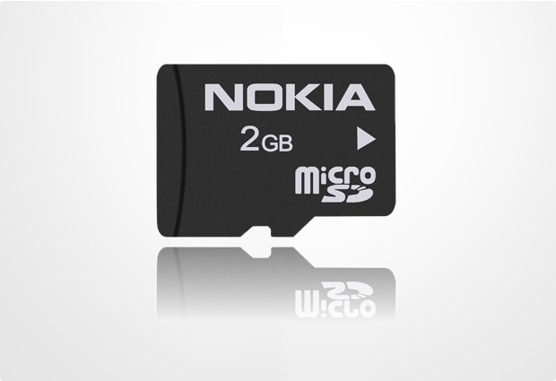 Nokia microSD Speicherkarte 2GB MU-37