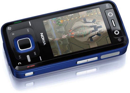 Nokia N81 SD blau