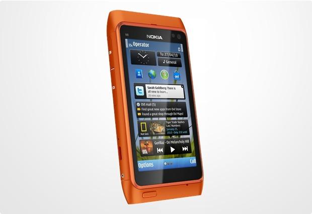 Nokia N8, orange
