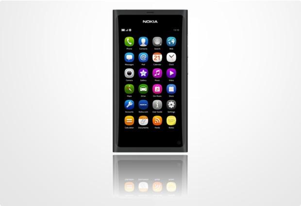 Nokia N9-00 64 GB, schwarz (EU-Ware)