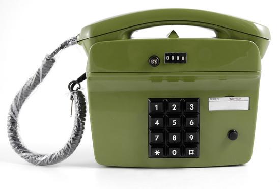 HDK Nostalgietelefon FeWap 752, gr�n