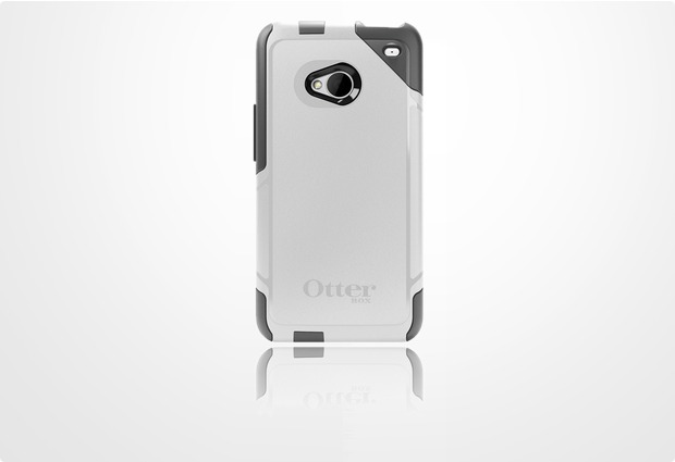 OtterBox Commuter f�r HTC One (M7), Glacier