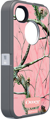 OtterBox Defender Camo Realtree AP für iPhone 4 / 4S, pink