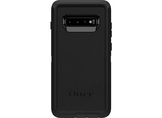 OtterBox Screenless Edition - Backcase - widerstandsfähig - Polycarbonat - Schwarz - Samsung Galaxy S10+