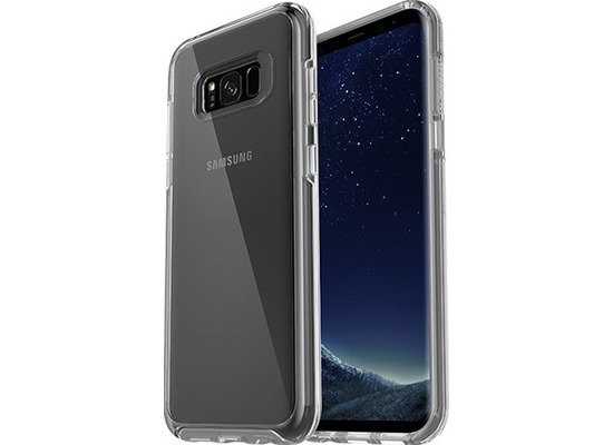 OtterBox Symmetry Heisman, Galaxy S8+, clear