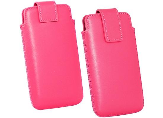 Fontastic OZBO Ledertasche Cora Lift XL - pink - 137x71x10mm
