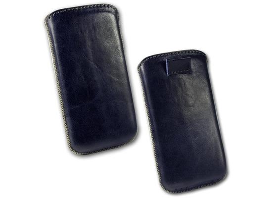 Fontastic OZBO Ledertasche Ovin XL - blau - 137x71x10mm