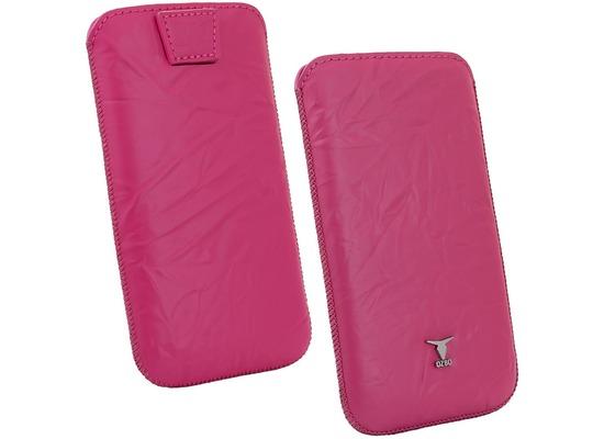 Fontastic OZBO Ledertasche Piega M - pink - 120x62x14mm