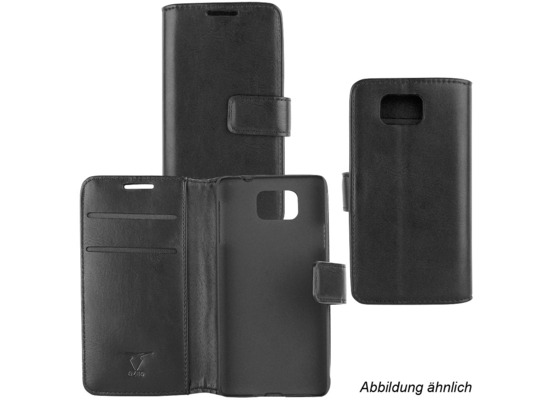 Fontastic OZBO PU Tasche Diary Business schwarz komp. mit Samsung Galaxy J5 (2017)