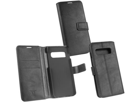 OZBO PU Tasche Diary Business schwarz komp. mit Samsung Galaxy S10