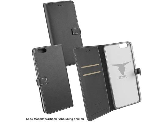 "Fontastic OZBO PU Tasche \""Diary Leda\"" - schwarz - für Apple iPhone 7"