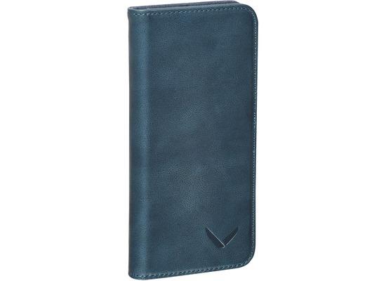 packenger luxury echtleder iphone 6 6s klapph lle blau. Black Bedroom Furniture Sets. Home Design Ideas