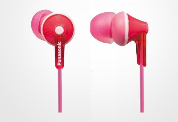 Panasonic In-Ear Stereo Kopfhörer RP-HJE125, pink
