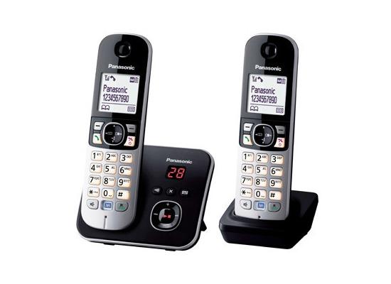 Panasonic KX-TG6822GB Duo, schwarz