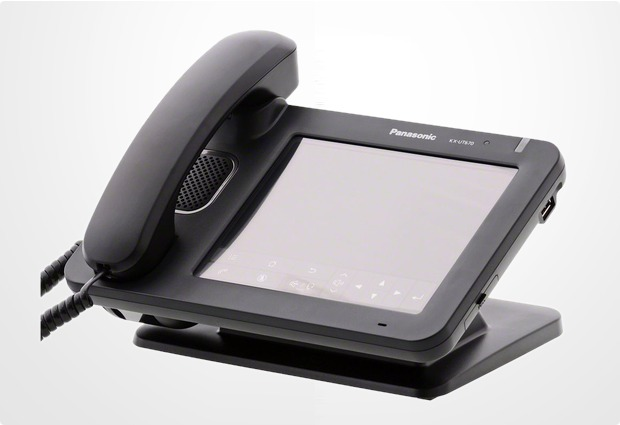 panasonic kx ut670ne sip voip telefon schwarz bei telefon. Black Bedroom Furniture Sets. Home Design Ideas