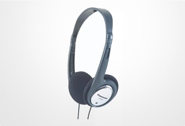 Panasonic Leichtbügel Stereo Kopfhörer RP-HT030, silber