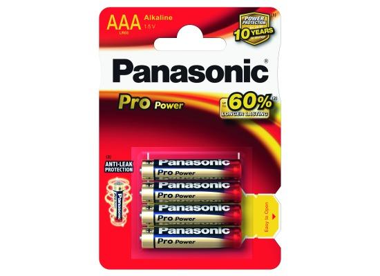 Panasonic Pro Power (AAA), 4er Blister,