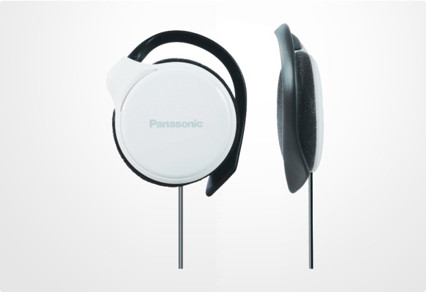 Panasonic Stereo Clip Kopfhörer RP-HS46, weiß