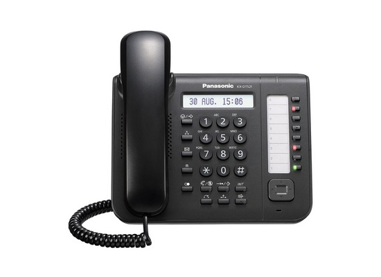 Panasonic Systemendgerät KX-DT521NE-B schwarz