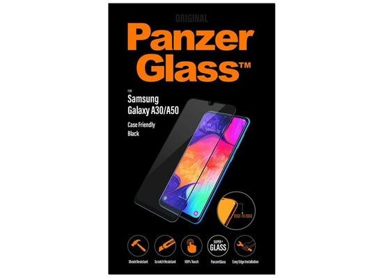 PanzerGlass Samsung Galaxy A30/A50 Case Friendly Black / Edge-to-Edge / Super+ Glass
