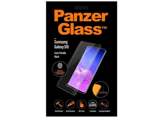 PanzerGlass Samsung Galaxy S10 Fingerprint Case Friendly Black / Edge-to-Edge /