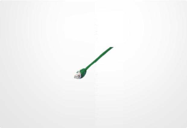 Equip Patchkabel 0,5m doppelt geschirmt (Folien- und Geflechtschirm) grün