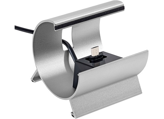 Pedea Dockingstation L micro-USB, silber