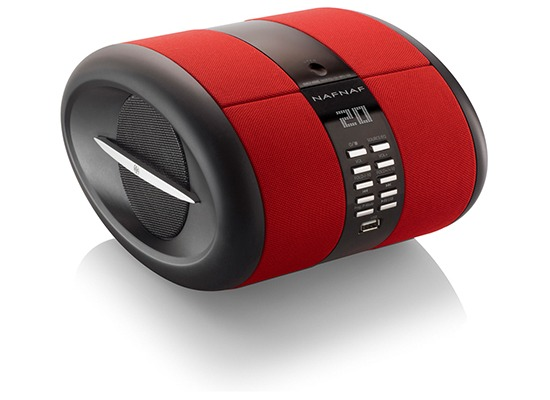 Pedea NAFNAF SENSE Bluetooth MP3/CD Radio, red
