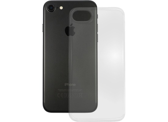 Pedea Soft TPU Case (glatt) für Apple iPhone 7 / 8, transparent