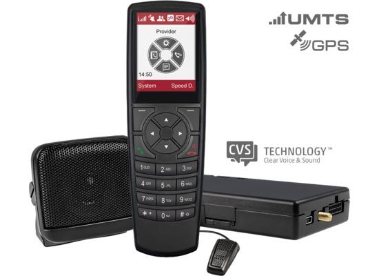 pei tel PTCarPhone 530 UMTS und GPS-Modul, schwarz