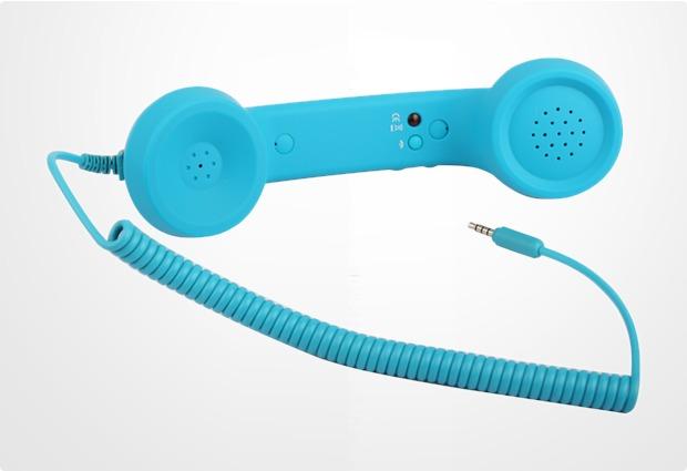 Twins Retrophone+ (Volume Control), petrolblau