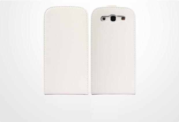 Twins Candy Flip für Samsung Galaxy S3, weiß