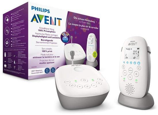 Philips Avent Audio-Babyphone SCD733/26