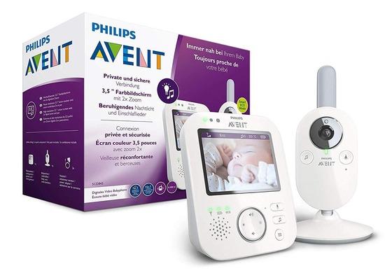 Philips AVENT Video-Babyphone SCD843/26