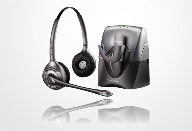 Plantronics CS361N SupraPlus Wireless Binaural