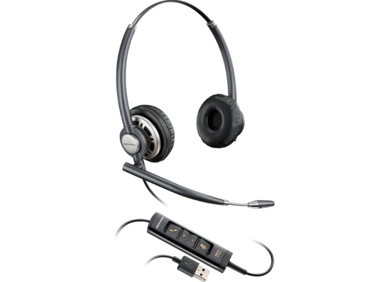 Plantronics EncorePro 700 USB, Kopfbügel, binaural, Noise-Cancelling (NC)