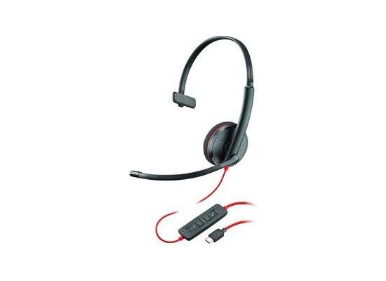 Plantronics Headset Blackwire C3210 monaural USB-C