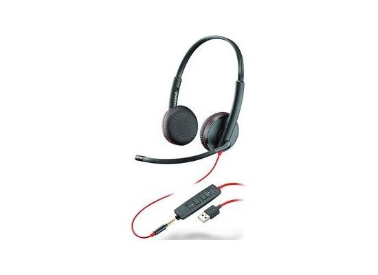 Plantronics Headset Blackwire C3225 binaural USB & 3,5 mm