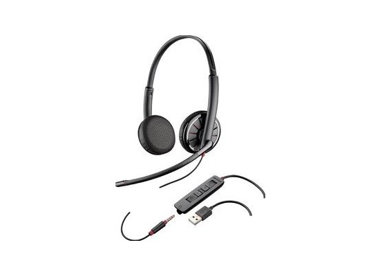 Plantronics Headset Blackwire C325.1-M binaural USB & 3,5 mm