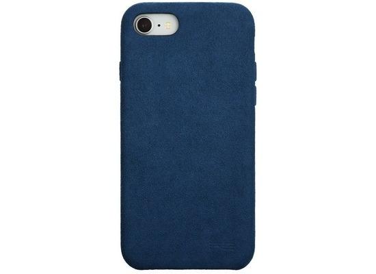Power Support Ultrasuede Air Jacket Apple iPhone SE 2020 / iPhone 8 / 7 blau